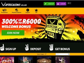 Play Games from Many Different Gaming providers at AfriCasino