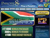 Paradise 8 Casino Screenshot